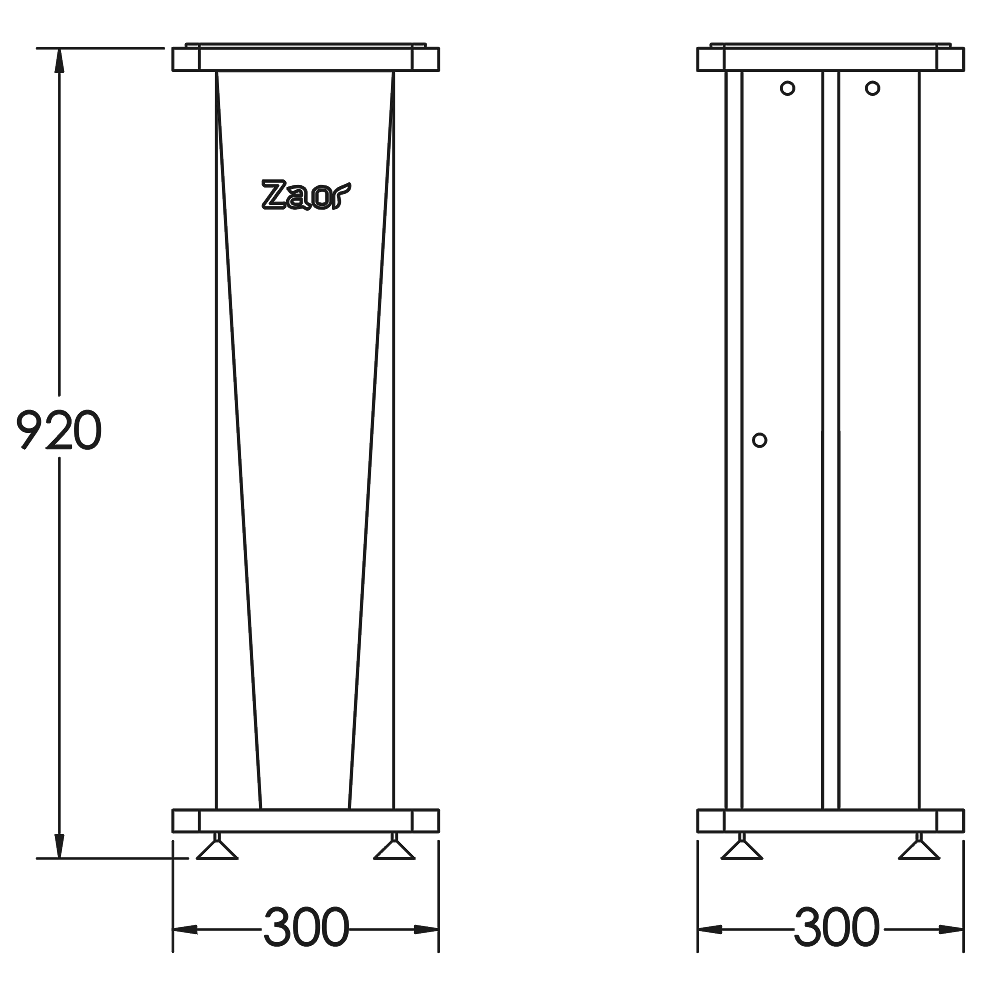 Classic-Stand-Croce-36-Technical-Drawings