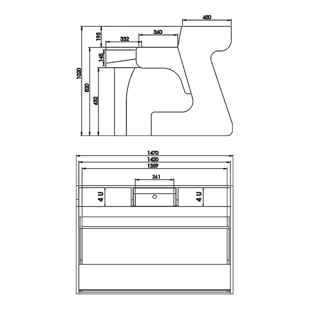Miza-Desk-88-Technical-Drawings
