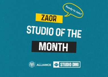 Zaor Studio Of the Month Banneerr