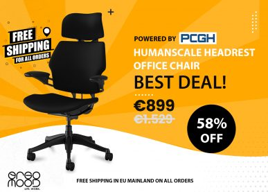 zaor banner humanscale freedom headrest chair